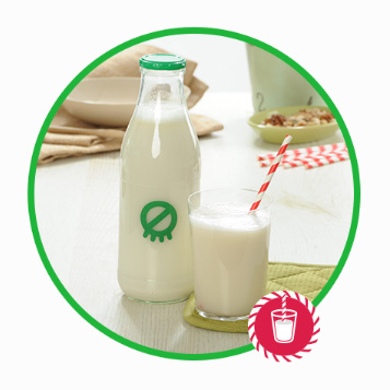 6.lépés - Kész a finom növényi ital! Fogyaszd natúran vagy édesítve!